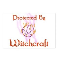 Protected By Witchcraft Postcards (Package of 8)