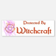 Protected By Witchcraft Bumper Bumper Bumper Sticker
