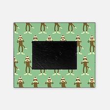 No Evil Sock Monkeys Picture Frame