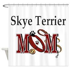 Skye Terrier Mom Shower Curtain