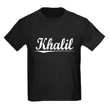 Khalil, Vintage T