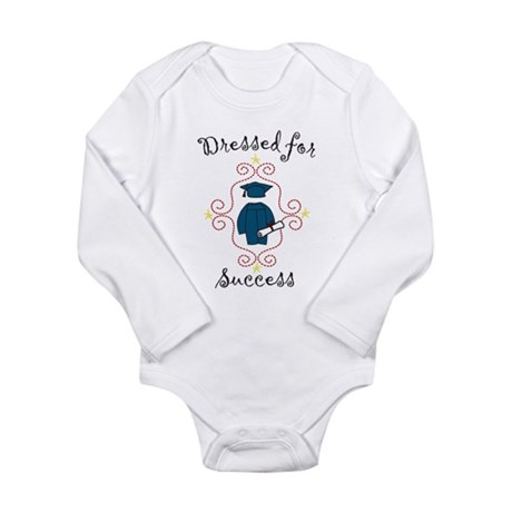 Dressed For Success Long Sleeve Infant Bodysuit