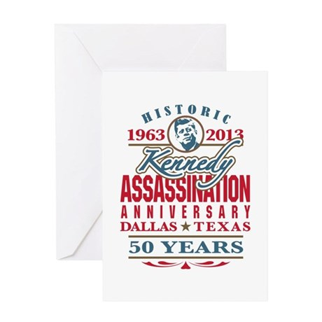 Kennedy Assassination Anniversary 2013 Greeting Ca