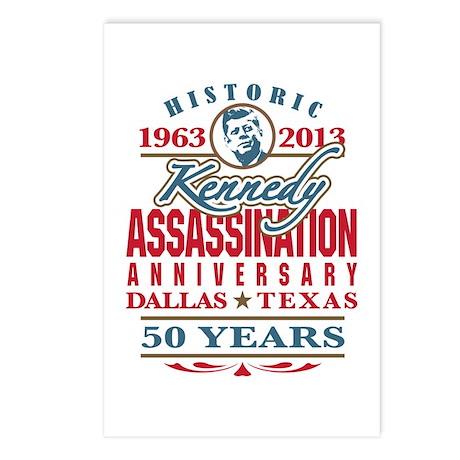 Kennedy Assassination Anniversary 2013 Postcards (