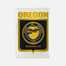Oregon State Seal (B) Rectangle Magnet
