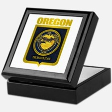 Oregon State Seal (B) Keepsake Box
