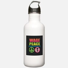 Wage Peace Rainbow Water Bottle