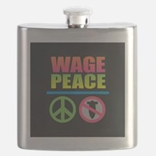 Wage Peace Rainbow Flask