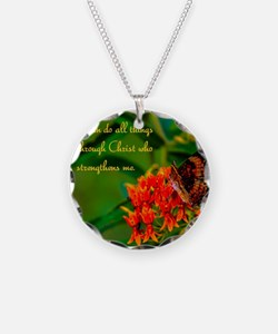 All Things Through Christ Necklace
