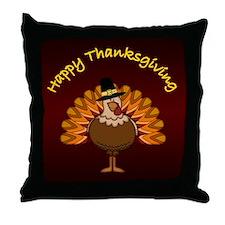 Happy Thanksgiving - Throw Pillow