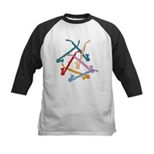 Colorful Alto Clarinets Tee