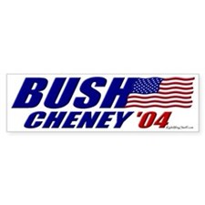 Bush-Cheney 04 Bumper Car Sticker