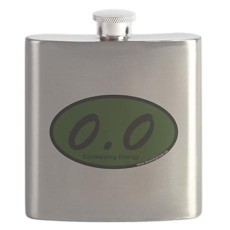 Green Zero Point Zer Flask