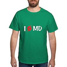 I LOVE MD T-Shirt