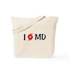 I LOVE MD Tote Bag