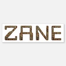 Zane Circuit Bumper Bumper Bumper Sticker