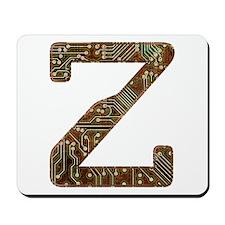 Z Circuit Mousepad