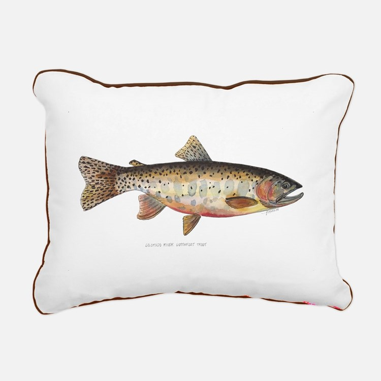 Colorado River Cutthroat Trout Rectangular Canvas