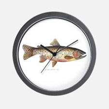 Colorado River Cutthroat Trout Wall Clock