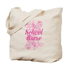 School Nurse (Pink) Tote Bag
