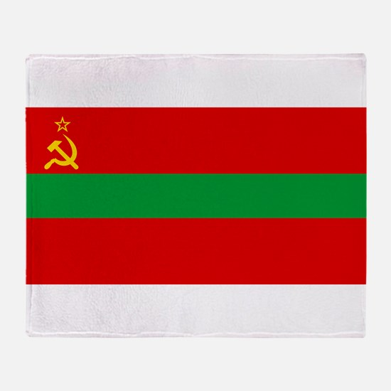 Transnistria - National Flag - Current Throw Blank