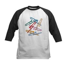 Colorful Trombones Tee
