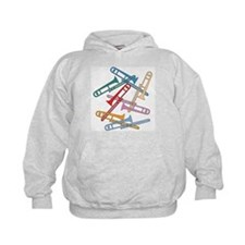 Colorful Trombones Hoody