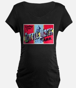 Little Rock Arkansas Greetings T-Shirt