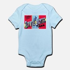 Little Rock Arkansas Greetings Infant Bodysuit