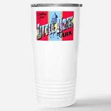 Little Rock Arkansas Greetings Travel Mug