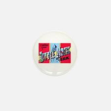 Little Rock Arkansas Greetings Mini Button (100 pa