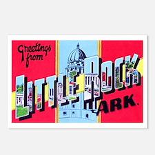 Little Rock Arkansas Greetings Postcards (Package