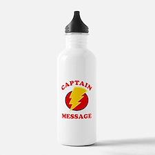 Personalized Super Hero Water Bottle