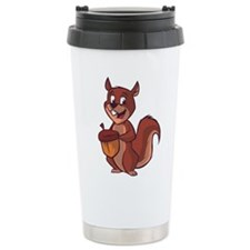 I LOVE CT Thermos Can Cooler