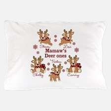 Custom deer grand kids Pillow Case