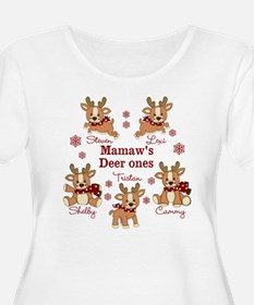 Custom deer grand kids T-Shirt