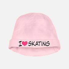 I Heart Skating baby hat