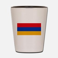Armenia - National Flag - Current Shot Glass