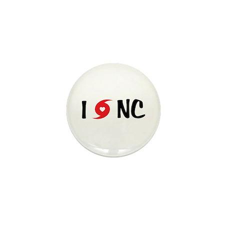 I LOVE NC Mini Button