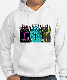 nurse cat NO BACKGROUND.PNG Jumper Hoody