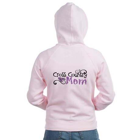 Cross Country Mom Women's Zip Hoodie