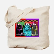 nurse cat blanket.PNG Tote Bag