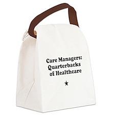 Care Manegers: Quarterbacks of Healthcare Canvas L