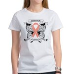 Survivor Uterine Cancer Women's T-Shirt