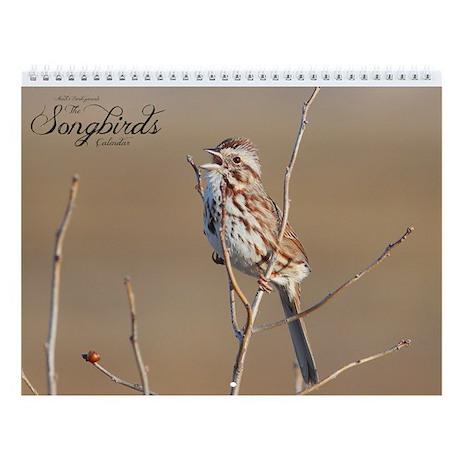 The Songbirds Wall Calendar by Noah's Birds.