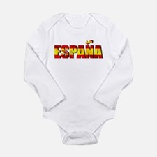 Espana Long Sleeve Infant Bodysuit