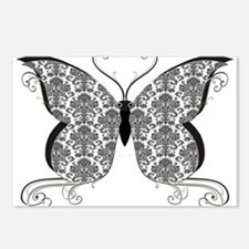 Damask Butterfly.png Postcards (Package of 8)