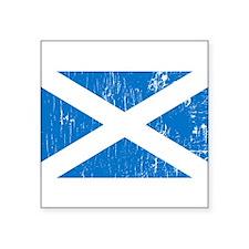 Vintage Scotland Rectangle Sticker