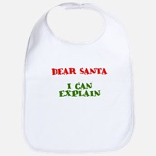 Santa - I can explain Bib