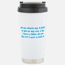 Funny Ask Me About My ADHD Stainless Steel Travel